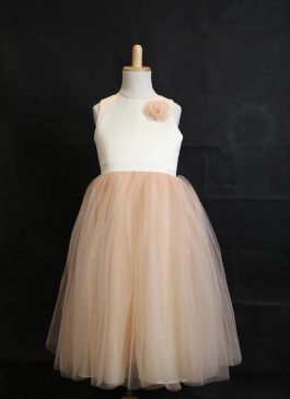 Ball Gown Floor-length Flower Girl Dress -  Layers Ruffles Skirts