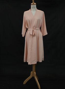 ROBE FOR BRIDEMAID BLUSH PLAIN