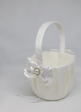 Aria Flower Girl Basket