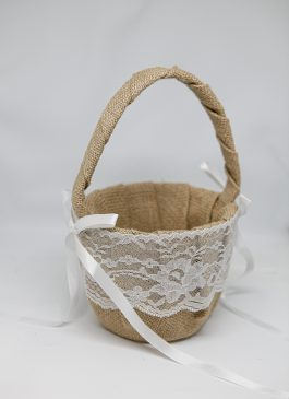 Ava Flower Girl Basket