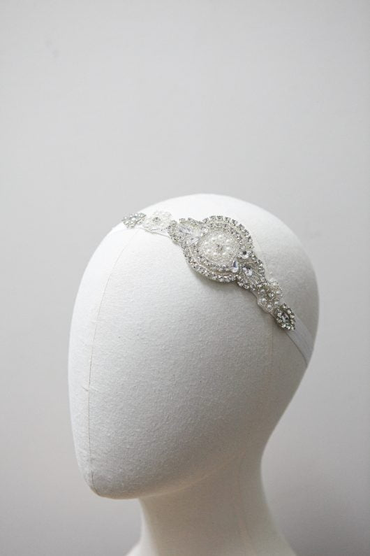 Ivy Flower Girl Hairband
