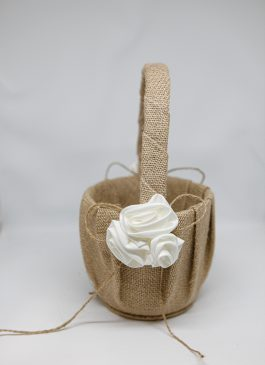Lucy Flower Girl Basket