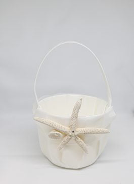 Mila Flower Girl Basket