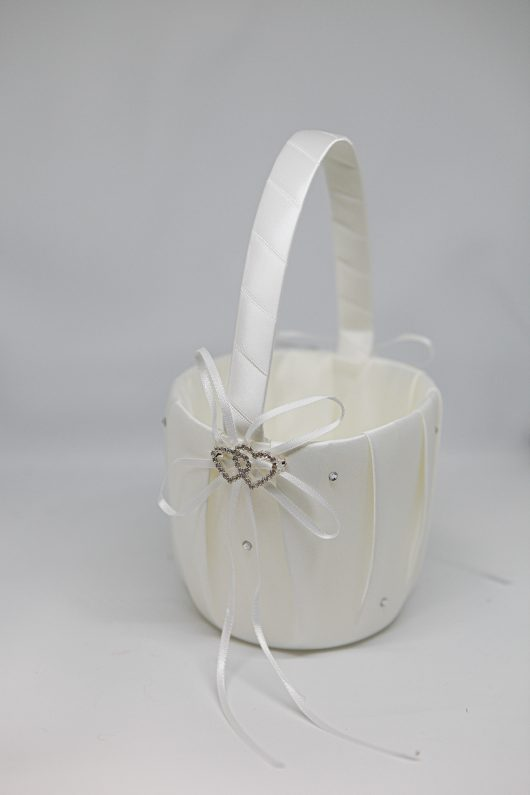 Zoey Flower Girl Basket