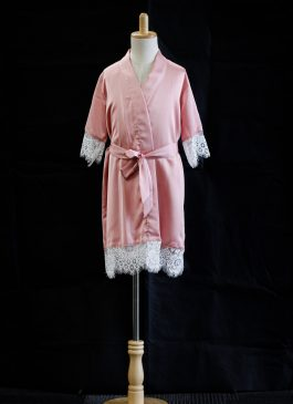 Flower Girl Robe - Rose Pink